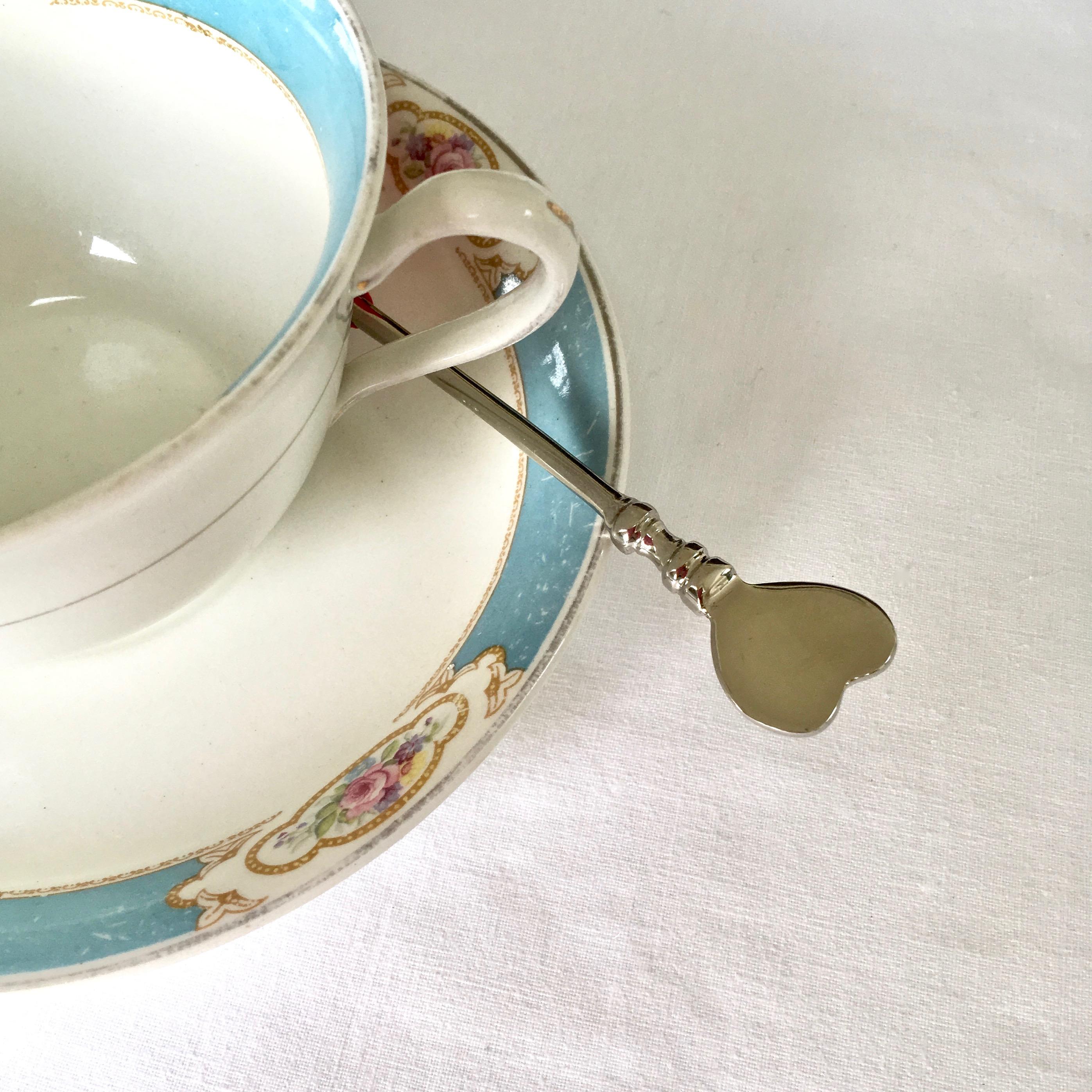 Pewter Heart Spoon