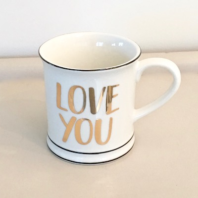 Love You Porcelain Mug