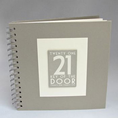 21st Birthday Memories Album / Keepsake Book
