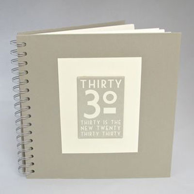 30th Birthday Memories Album / Keepsake Book