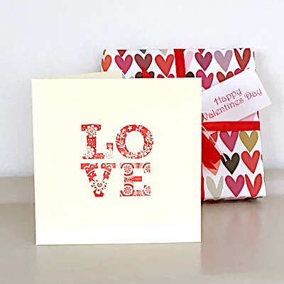 Handmade Love Anniversary Card