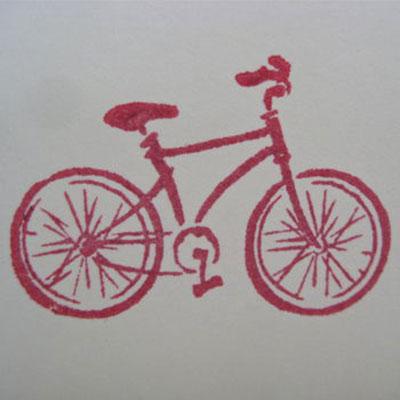 Handmade Bicycle Card