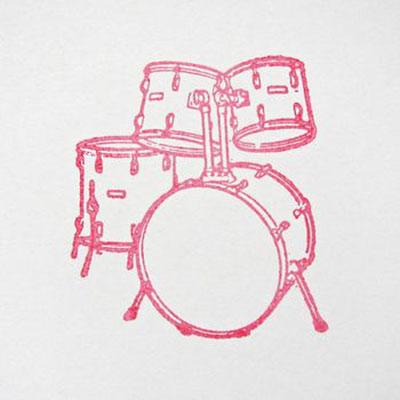 Handmade Drum Card