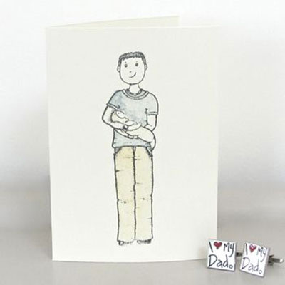 New Dad Handmade Card