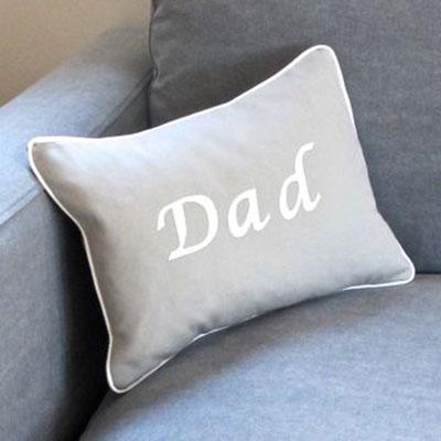 Handmade Dad Cushion