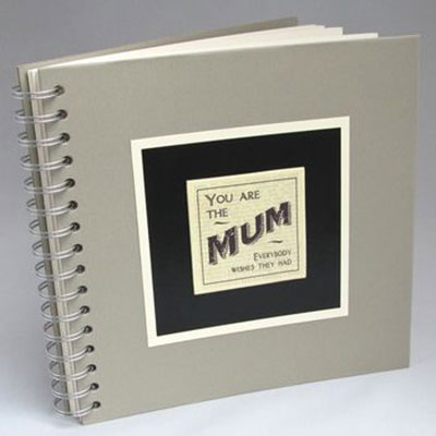 Mum's Memories Photo Album / Keepsake Book