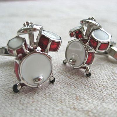 Drum Cufflinks