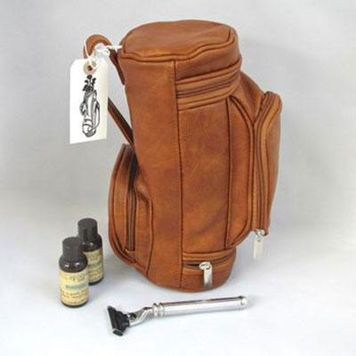 Leather Golf Wash Bag