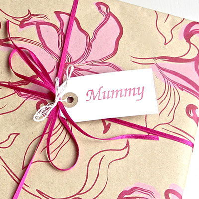 Mummy Gift Tag