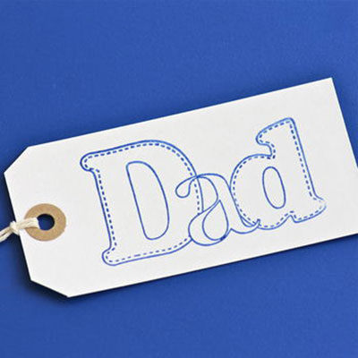 Dad Gift Tag ~ Large