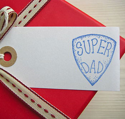 Super Dad Gift Tag