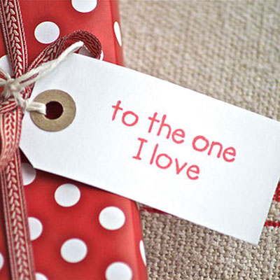 to the one i love anniversary gift tag