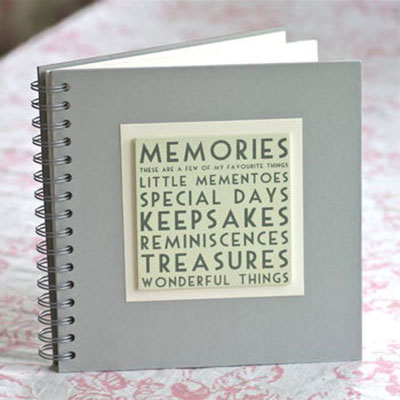 Bridesmaid Keepsake Memories Book
